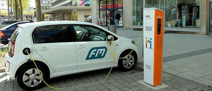 Laddlösning för elbil
