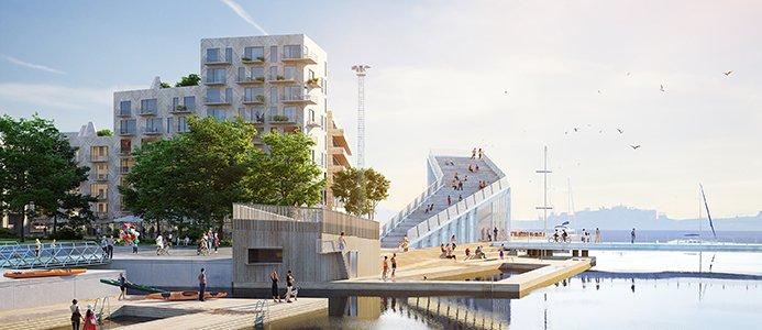 Inre hamn i Norrköping