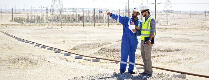 Substation i Oman. Bildkälla: ABB