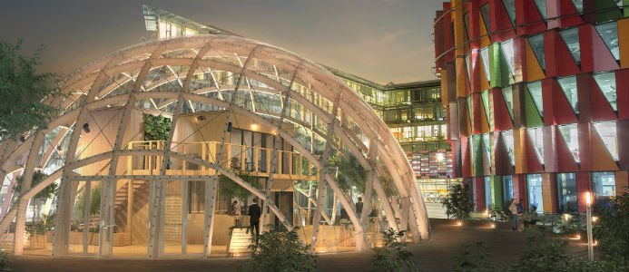 NCC:s Dome of Visions. Bildkälla: NCC
