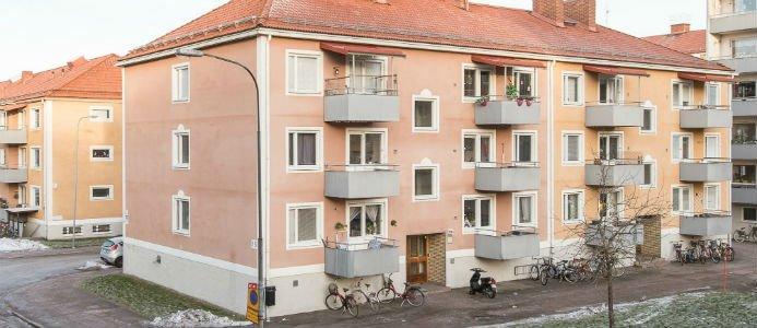 Bild på en av Heimstadens senaste förvärv av Gavlegårdarna, på Brynäs. Bildkälla: Heimstaden