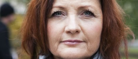 Marie Nilsson, förbundsordförande. Fotograf: Bea Tigerhielm