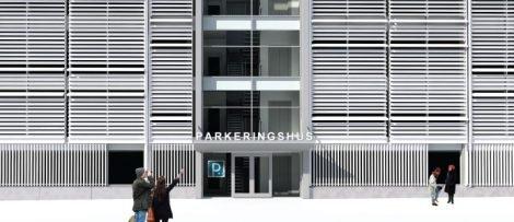 Parkeringshus Gävle Strand