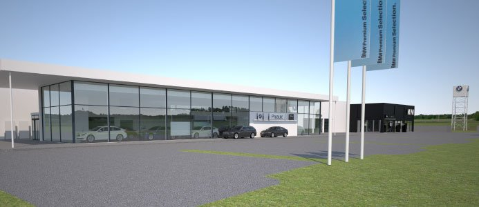 Proauto bygger i Norrköping.