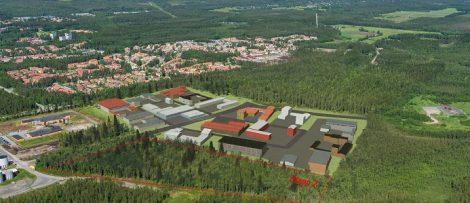 Östra Ersboda. Bildkälla: Umeå kommun