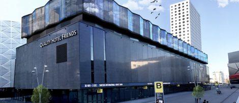 Peab bygger ut hotell vid friends arena