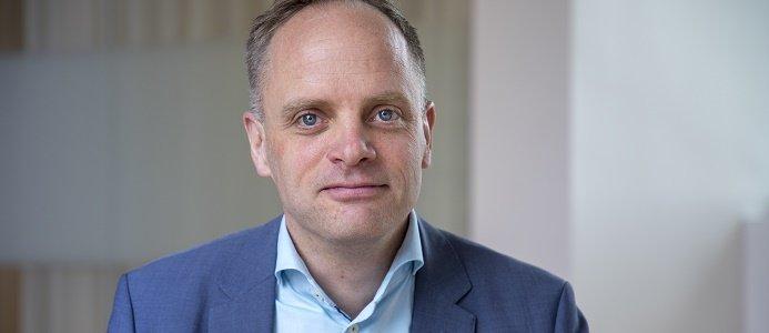Jonas Stenbeck, chef Vattenfall Försäljning. Foto: Vattenfall