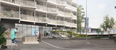 Wästbygg satsar på ungdomsbostäder i Hökarängen