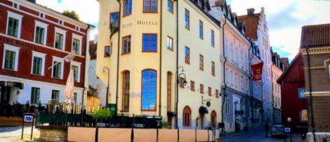 Seminarium Business Case Oslo-Sthlm 2.55 äger rum på Clarion Hotel Wisby. Bildkälla: Oslo-Sthlm 2.55