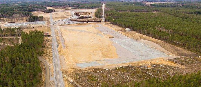 Logistikanläggning i Eskilstuna