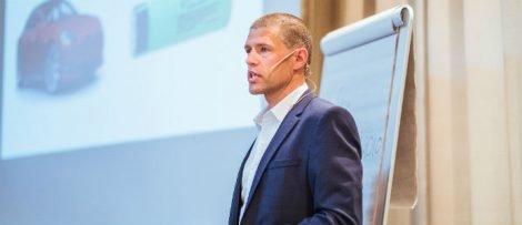 Andreas Myhre, elhandelschef på LOS Energy. Foto: Geir Anders Rybakken Ørslien