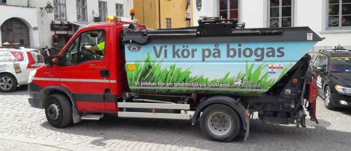 Bildkälla: Energigas Sverige
