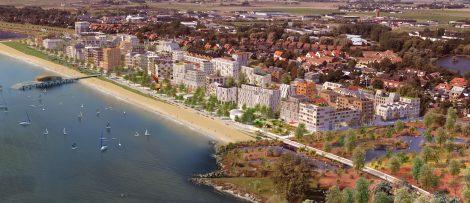 Kuststad 2025 skapar 1 000 nya bostäder i Trelleborg.
