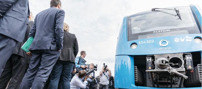 Alstoms vätgaståg tas i passagerartrafik i Niedersachsen