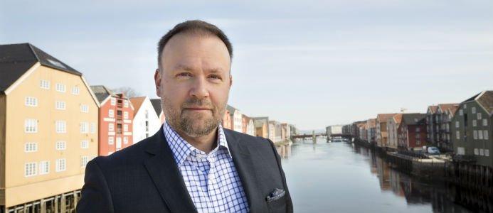 Håvard Wollan, vd. i Biokraft AS. Foto: Thor Nielsen