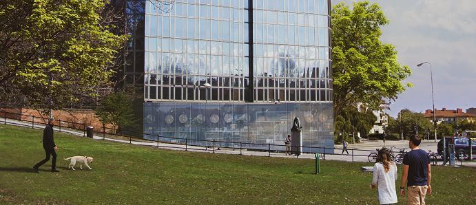 Fabege bygger bostäder i Råsunda