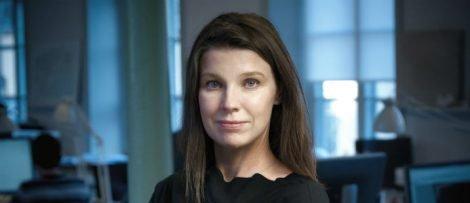 Charlotta Holm Hildebrand, branschchef och ansvarig för branschrapporten. Foto: Joel Nilsson