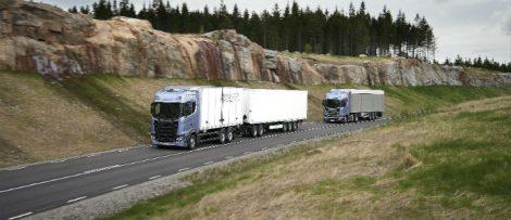 – Jag ser positivt på Trafikverkets nya mål. Det kan komma att ta några år, men jag tror på en bra lösning, säger Göran Arkler, vd Transportindustriförbundet. Foto: Gustav Lindh 2016/Scania