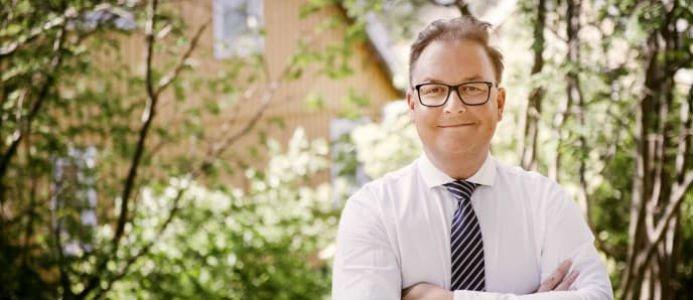 Fredrik Kullman, vd för Bjurfors Stockholm. Foto: Bjurfors
