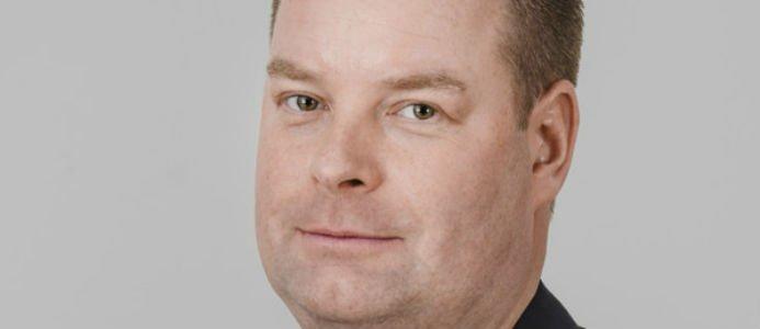Johan Fröbel, projektledare Svensk Trä. Foto: Heléne Grynfarb / Svenskt trä