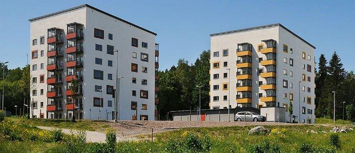 Bild på en av Rikshems senaste förvärv, Märsta Port. Foto: Rikshem