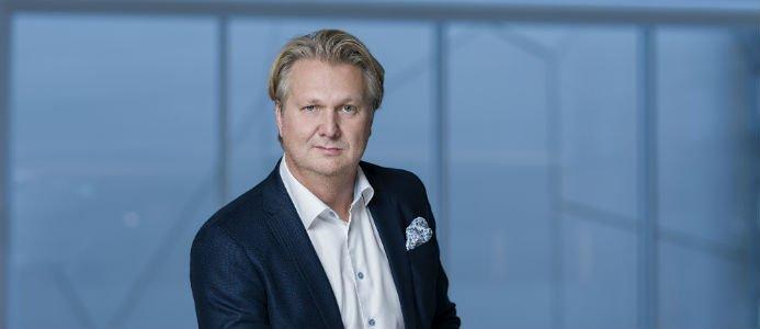 Erik Mårtensson, chef för Siemens i Sveriges division Energy Management. Foto: Daniel Roos