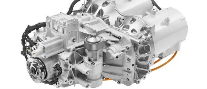 Bild på en elmotor. Foto: Volvo