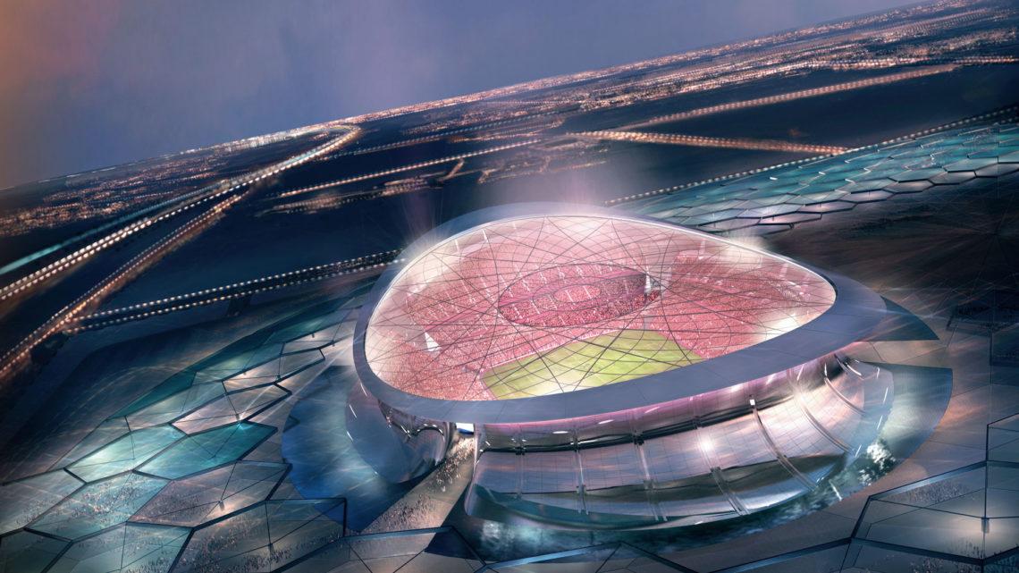 Bild 1 av 9: Lusail Iconic Stadium in Al-Daayen. (qatar.to)