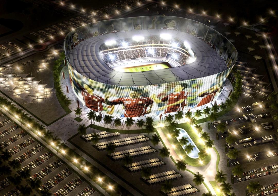 Bild3 av 9: Al-Rayyan Stadium which is set to be under main renovation at Al-Rayyan area. (venturesonsite.com)