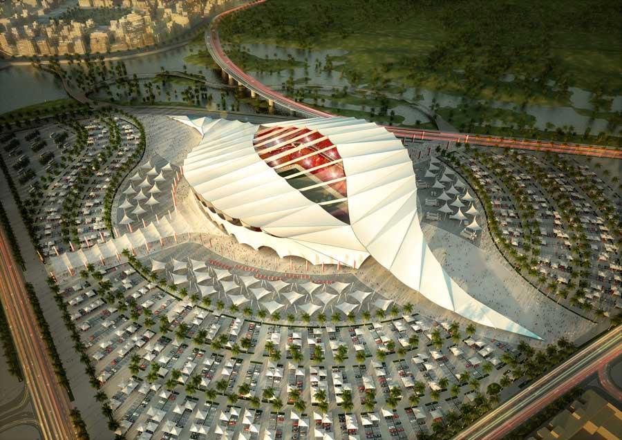 Bild 4 av 9: Al-Khor Stadium will be built by Qatar Olympic Committee. (qatar.to)