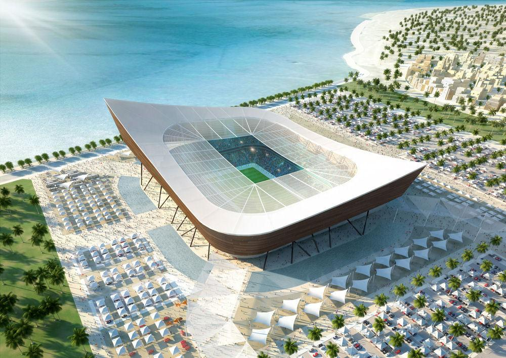 Bild 6 av 9: Al-Shamal Stadium. (qatar.to)