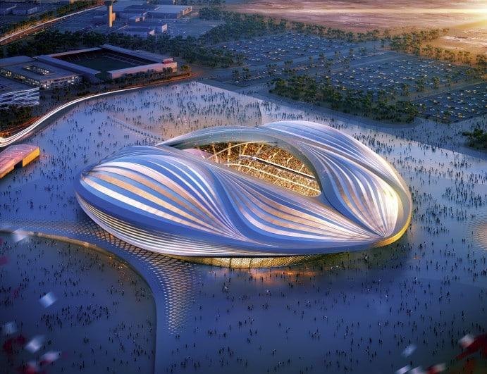 Bild 7 av 9: Al-Wakrah Stadium by Qatar Olympic Committee. (qatar.to)