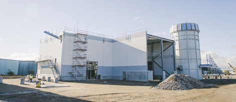 Biobränsle pelletsfabrik