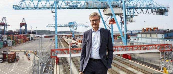 Magnus Kårestedt, vd för Göteborgs Hamn. Bild: Göteborgs Hamn
