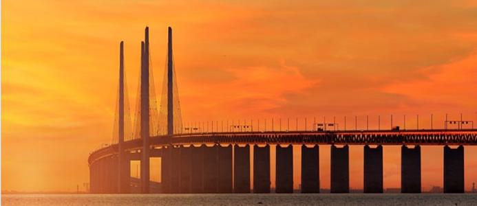 Öresundsbron. Bildkälla: Skånetrafiken.