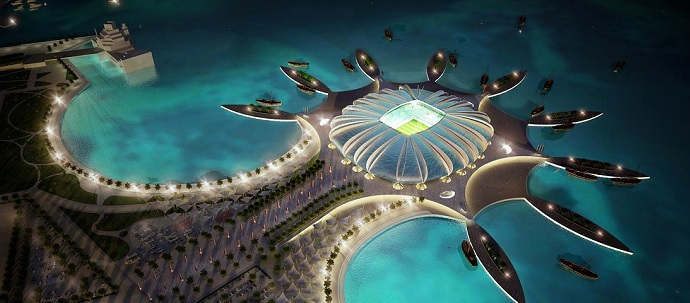 Doha Port Stadium (Doha, Qatar). Av: Albert Speer & Partner GmbH