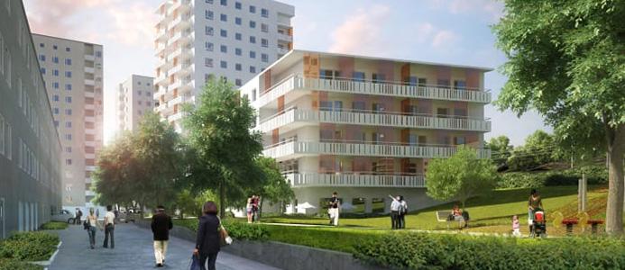 Stockholmshem bygger i Årstastråket