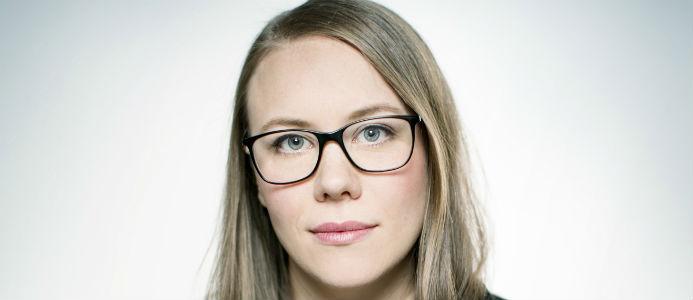Anna Broman, bostadspolitisk expert på Sveriges Byggindustrier. Foto: Rosie Alm