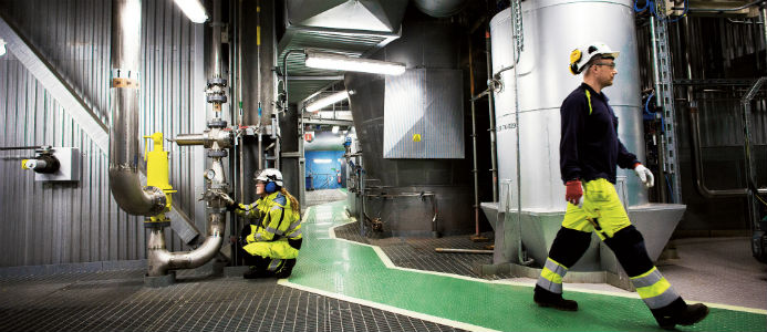 Biogasanläggning Gobigas Foto: Sören Håkan Lind