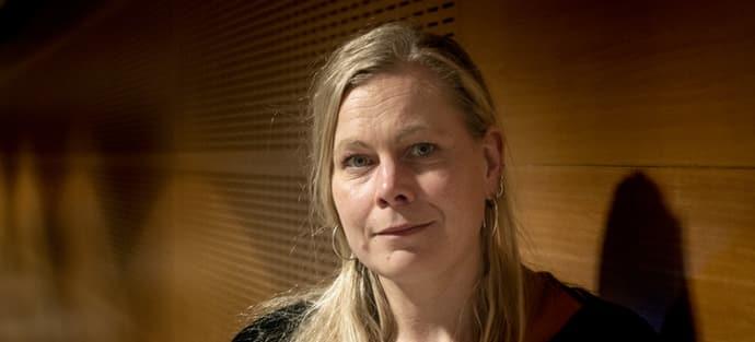 Charlotta Thodelius. Foto: Johan Bodell