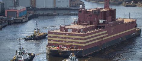Kärnkraftverk på vatten i Ryssland