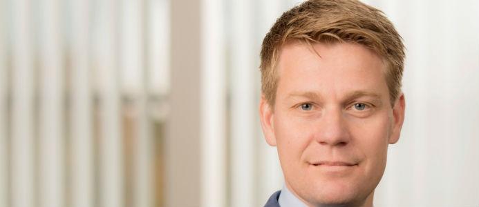 Olof Hansson, affärsområdeschef Södra Skog. Fotograf: Ola Kjelbye