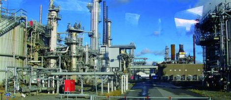 Preems raffinaderi i Göteborg. Foto: Kjell Andersson