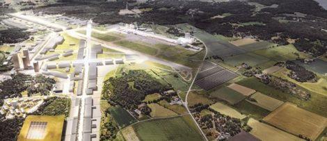 Säve flygplats Fotograf: Illustration: White