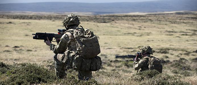 Skanska levererar till brittiska försvaret.