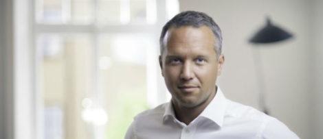 Johan Johansson, vd för Tre Sverige. Foto: Tre