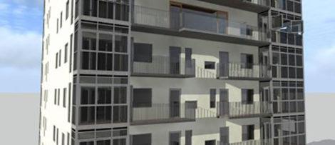 Sundsvall får rekordhögt bostadshus
