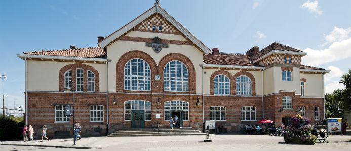 Bild på stationen i Alvesta. Foto: Per Myrehed