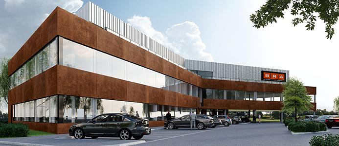 BRA Bygg bygger eget huvudkontor.