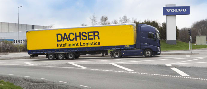 Dachser levererar till Volvo